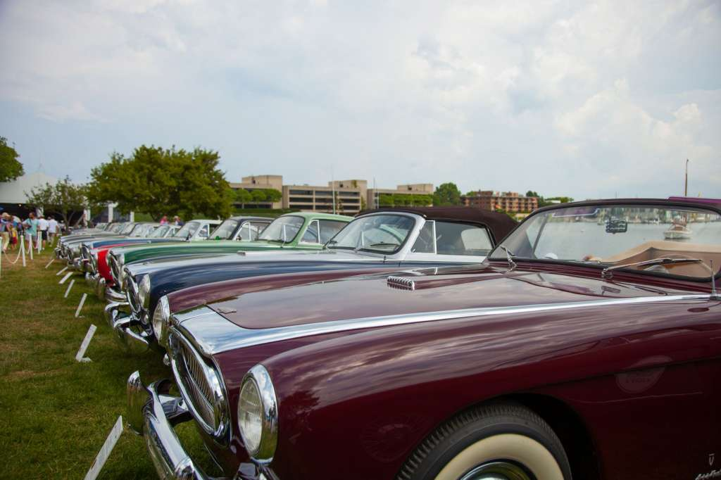 Cunningham Gathering III at Greenwich Concours