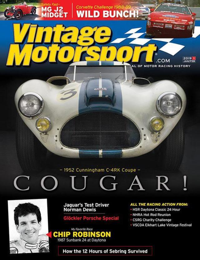Vintage Motorsport cover